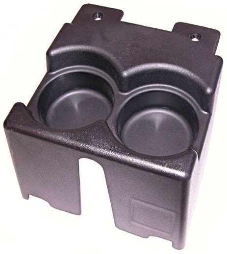 Jeep Cup Holders Jeep Xj Black Console Dual Cup Holder 1984 2001