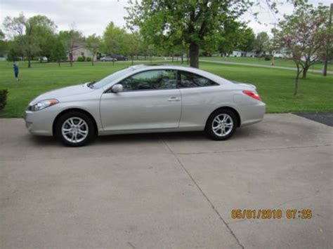 automobile air conditioning service 2006 toyota camry solara auto manual sell used 2006 toyota solara se sport coupe 2 door 2 4l in fort wayne indiana united states