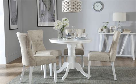 kingston dining room table kingston white dining table with 4 bewley oatmeal