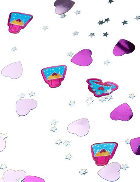 tischdeko party prinzessin party konfetti tischdeko lila rosa 14g