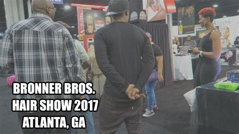 Mallony Brothers Hair Show In Atlanta Ga | vlog 8 bronners brothers hair show atlanta ga 2017
