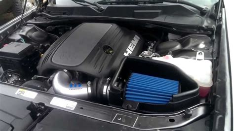 challenger rt cold air intake mopar coldair intake and filter question dodge