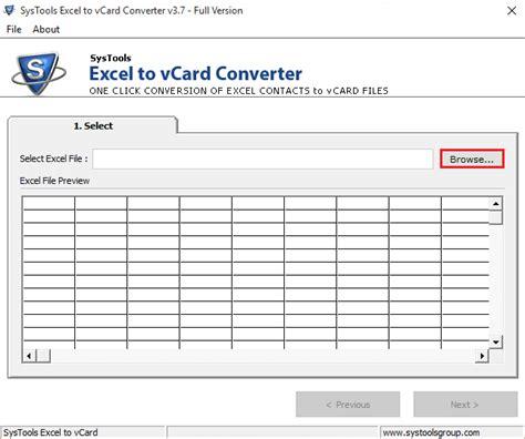 format vcard excel excel to vcard converter online