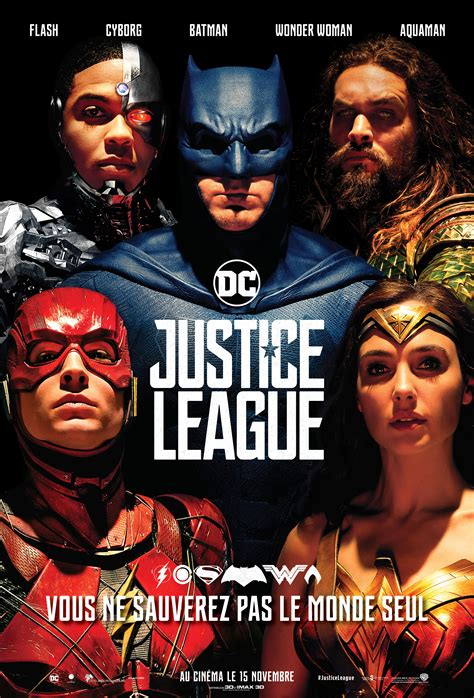 regarder vf aquaman streaming vf en french complet affiche justice league france wonder woman cyborg