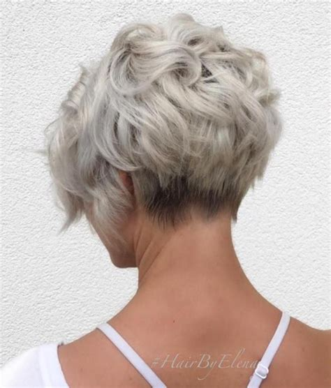 short haircuts for women over 60 stacked 50 trendiest short blonde hairstyles and haircuts curly