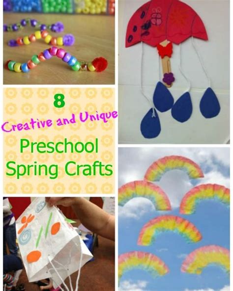 creative and craft ideas for 8 easy preschool crafts so many unique and