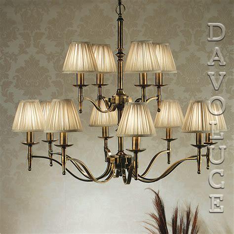 12 light brass chandelier viore design stanford 12 light chandelier brass by