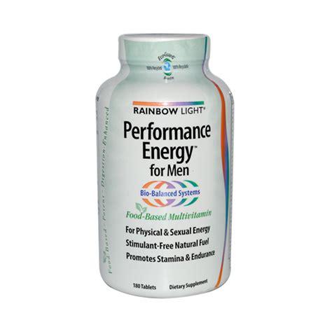 rainbow light performance energy rainbow light performance energy multivitamin for men