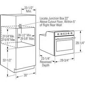 Kitchen Oven Width Built In Ovens Microwave Oven Built In Dimensions