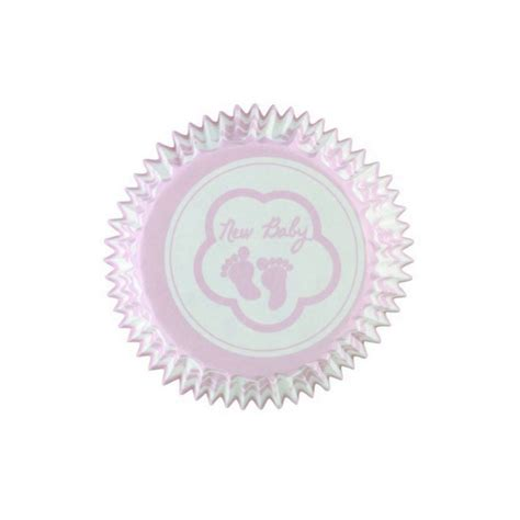 Baby Shower Cupcake Cases by Pink Baby Cupcake Cases Squires Kitchen Shop