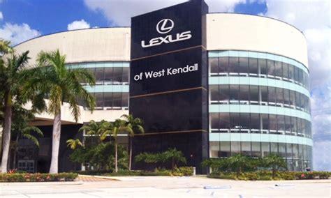 west lexus of kendall lexus of west kendall