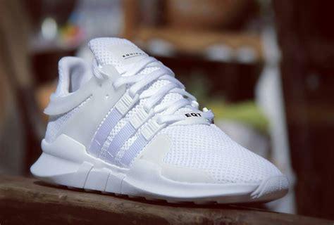 adidas eqt adidas eqt 91 16 triple white sneaker bar detroit