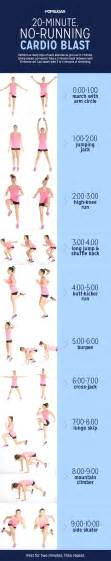 home cardio workout no running popsugar fitness