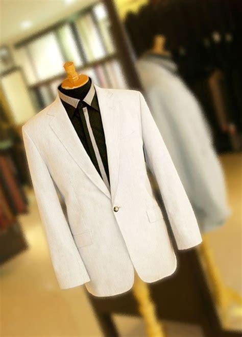 Jas Warna Putih Warna Putih Hitam Dominan Putih