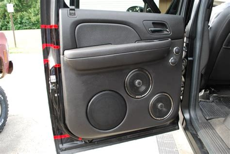 Speaker Audio Gmc Teckyo 881 2010 gmc 2500hd custom sound system limaohio kenwood custom audio car audio