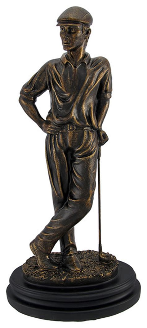 golf statues home decorating golf statues home decorating vintage chalkware golf chimp