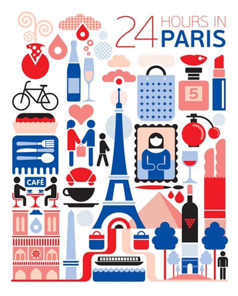 design franc art 24 hours illustration series fernando volken togni