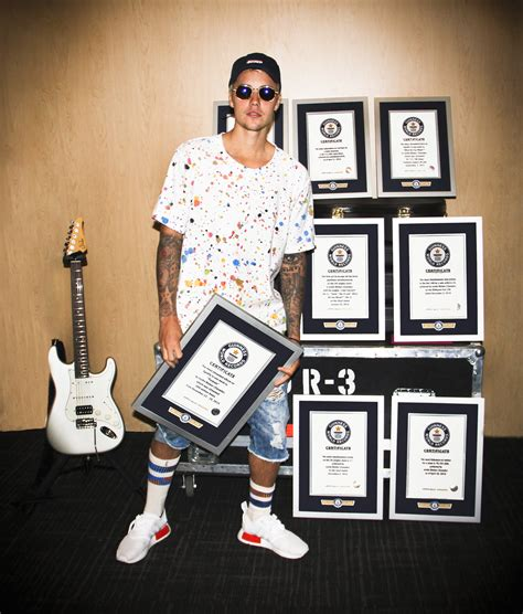 How To See Records Justin Bieber Guinness World Records 2017 See List
