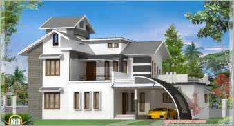 Home Design Contemporary India House Plan Sq Ft Kerala House Plans Kerala Kollam