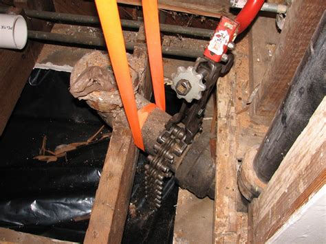 Cast Iron Plumbing Stack by Plumbing How Do I Replace This Cast Iron Toilet Flange