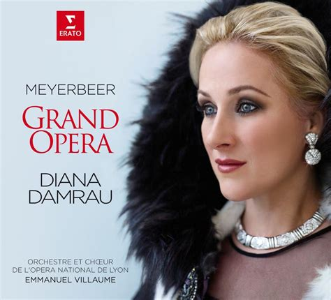 Diana Also Search For Diana Damrau In Glamorous Faux Fur For New Album Grand Opera