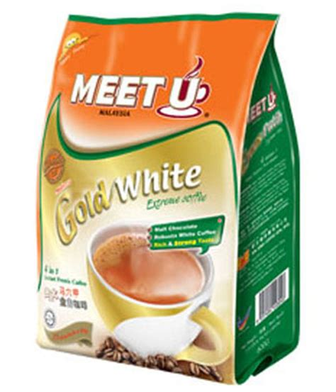 Meet U White Coffee meet u 4 in 1 gold white coffee white coffee market malaysia