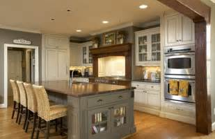 Kitchen Island Colors Craftsman Kitchens