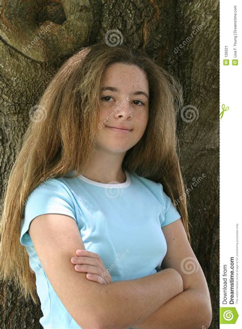 teen girls long hair teen girl with long hair stock image image 126021