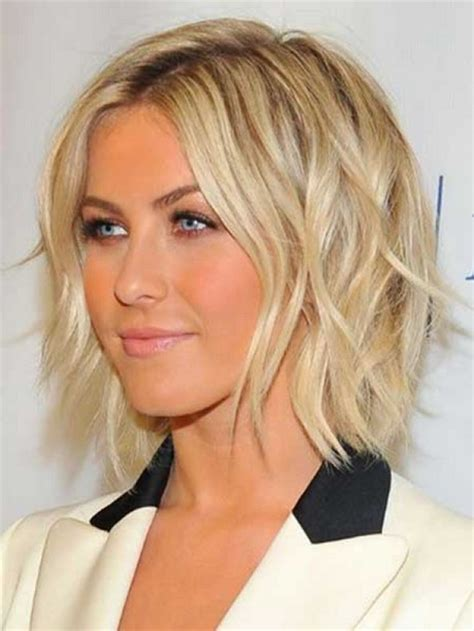 short hair just above the shoulders layered with a fringe shoulder layered haircuts 2016