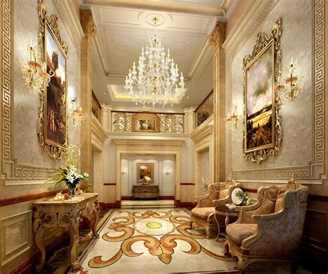 Decorations Luxury Homes by Wall Decoration In Luxury Hotels 3d House