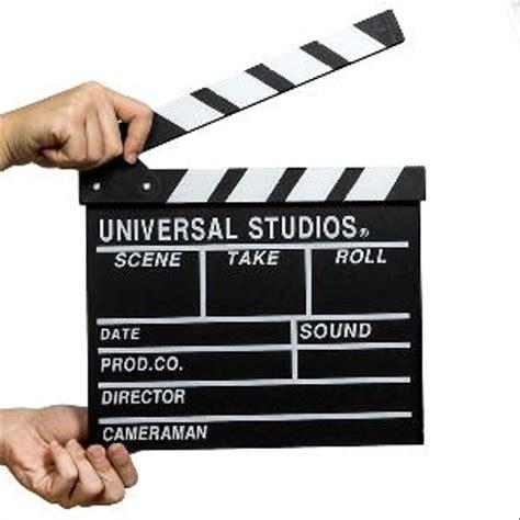 jual clapper board papan film  action  lapak
