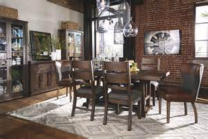 zenfield dining room chair ashley furniture homestore ashley formal dining room table set