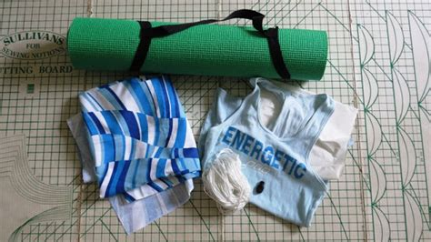 Make A Mat Bag by Creating Way To Success How To Make Your Own Mat Bag