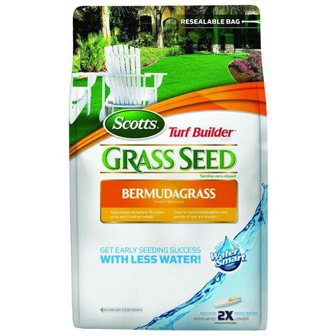 scotts turf builder 5 lb bermuda grass seed 18253 the