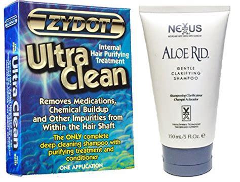 Zydot Hair Detox Reviews by Nexxus Aloe Rid Clarifying Shoo With Zydot Ultra Clean