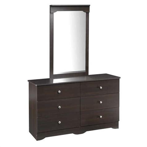6 drawer double dresser espresso 6 drawer double dresser in espresso 4606