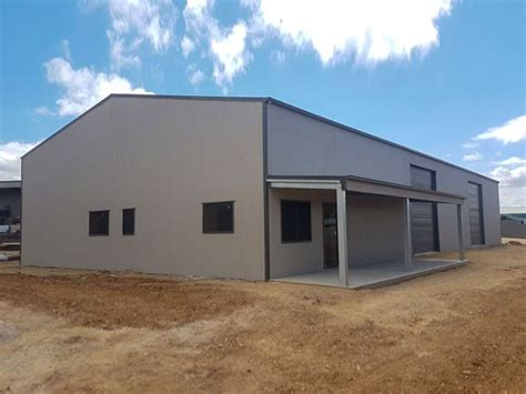 custom industrial shed  office project  work