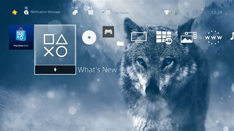 themes ps4 us blue eyed wolf theme on ps4 official playstation store us