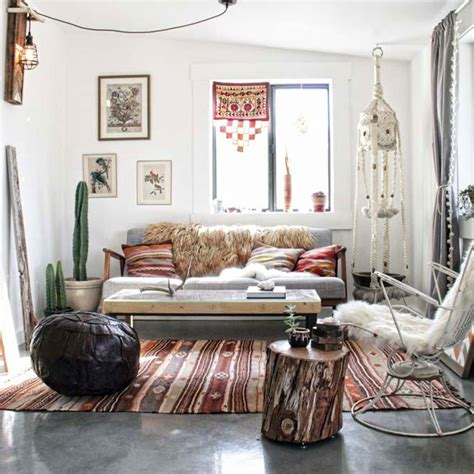 bohemian interior design elegant and stylish boho inspired desert house digsdigs