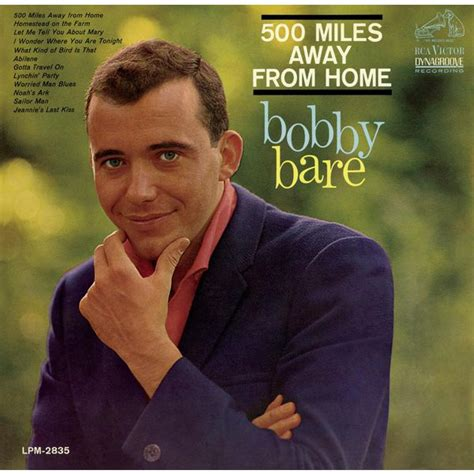 500 away from home bobby bare and