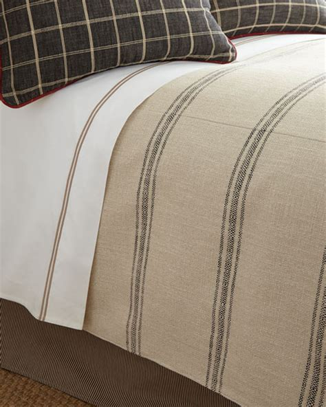 striped coverlet french laundry home queen kent wood striped coverlet