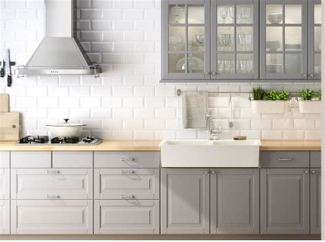 Grey Kitchen Cabinets Ikea | grey ikea kitchen kitchen dining room pinterest