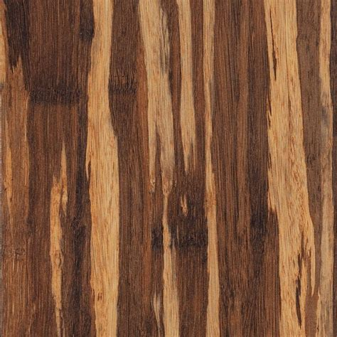 Laminate Bamboo Flooring Home Legend 7 In X 48 In Scraped Strand Woven Bamboo Cognac Vinyl Plank Flooring 28 Sq