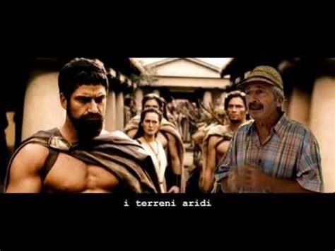 spartani contro persiani parodia 300 quot questa 232 sparta quot www axelfilm
