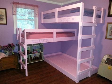 Diy Bunk Beds Pallet Bunk Bed Projects Pallet Wood Projects