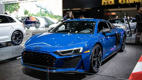 audi r8 v10 2020 2020 r8 gets new look 200 mph top speed for all models