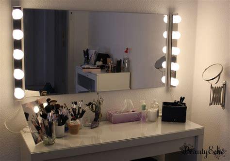 beleuchtung schminktisch spiegel mit beleuchtung ikea gispatcher