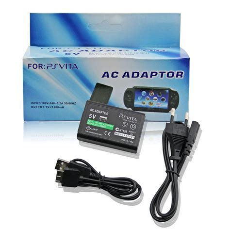 Adaptor Ps ac adapter with usb cable for ps vita eu ps vita ac adapter