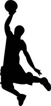 basketball silhouette basketball silhouette clip at clker vector clip