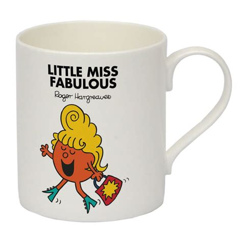 personalised little miss fabulous bone china mug shop
